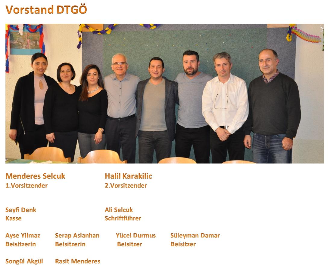 Vorstand DTGÖ 2017